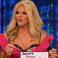 Snatch Game Look - Jessica Simpson