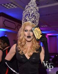 A pic of Sharon with the Crown