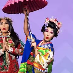 Variety Show Look - Kabuki