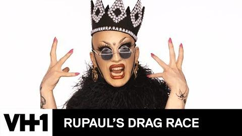 Drag Makeup Tutorial Sasha Velour's Fabergé Egg Look RuPaul's Drag Race Season 9 Now on VH1