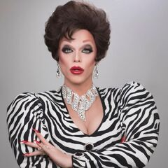 Unaired Snatch Game Look - Joan Collins