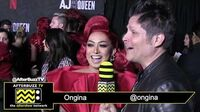 "Ongina on the Red Carpet of the ""AJ & The Queen"" Premiere in Hollywood"