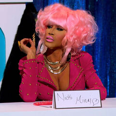 Snatch Game Look - Nicki Minaj