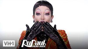 Aiden Zhane's Entrance Look Makeup Tutorial RuPaul's Drag Race
