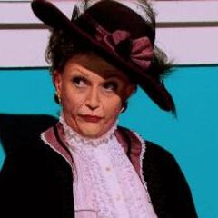 Snatch Game Look  — Maggie Smith