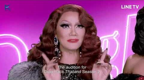 Drag Race Thailand Season 2 Audition Promo