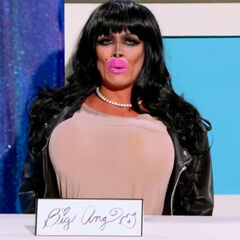 Snatch Game Look — Big Ang