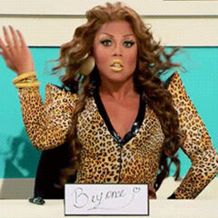 Snatch Game Look - Beyoncé