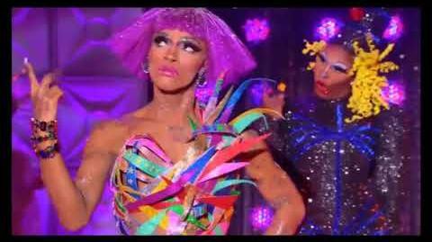 The Vixen vs Asia O'Hara Lip Sync Performance