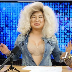 Unaired Snatch Game Look — Jennifer Coolidge