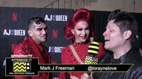 """Trinity """"The Tuck"""" Taylor on the Red Carpet of """"AJ & The Queen"""" Premiere in Hollywood"""