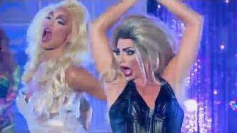 Rupaul's Drag Race All Stars Season 2 - LipSync Alyssa Edwards vs Tatianna FULL HD 60FPS