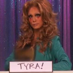 Snatch Game Look - Tyra Banks