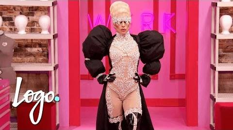 Lady Gaga's Big Entrance! RuPaul's Drag Race Season 9 DragRaceGoesGAGA Now on VH1!
