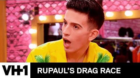 """Aquaria is """"The Gay Aficionado"""" 'Deleted Scene' - RuPaul's Drag Race Season 10"""