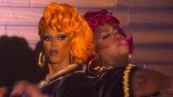 Push it - AJ and the Queen Rupaul and Latrice Royale