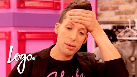 Rolaskatox Clashes in the Work Room RuPaul's Drag Race All Stars (Season 2) Logo