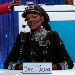Snatch Game Look - Janet Jackson