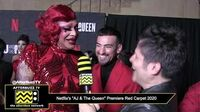 "Rare interview with RAVEN on the Red Carpet of ""AJ & The Queen"""