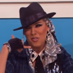 Snatch Game Look - Alicia Keys