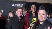 "RuPaul Charles & Michael Patrick King at the Premiere of ""AJ & The Queen"" in Hollywood"