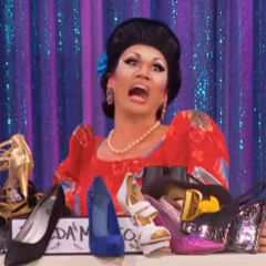 Snatch Game Look - Imelda Marcos