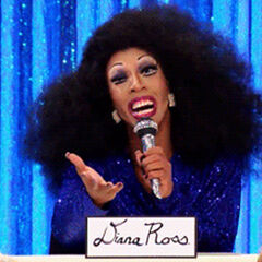 Snatch Game Look - Diana Ross