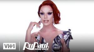 Nicky Doll's Cape Look Makeup Tutorial RuPaul's Drag Race