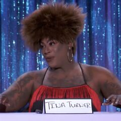 First Snatch Game Look - Tina Turner