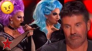 Drag Queens ARGUE With Simon Cowell On America's Got Talent 2019 Got Talent Global