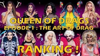 Queen Of Drags episode 1 The Art Of Drag ║ RANKING! ║-3
