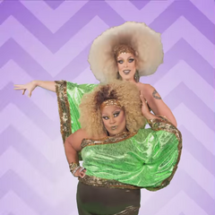 Conjoined Twins Look (with Tempest DuJour)