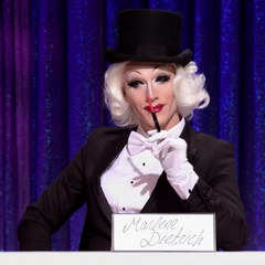 Snatch Game Look — Marlene Dietrich
