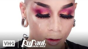 Dahlia Sin's Buttons & Bows Look Makeup Tutorial RuPaul's Drag Race S12
