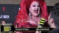 "Eureka O'Hara on the Red Carpet of the ""AJ & The Queen"" Premiere in Hollywood"
