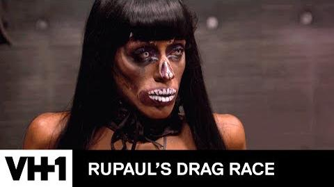 Every Name RuPaul Gives Nina Bo'Nina Brown RuVealed RuPaul's Drag Race Season 9