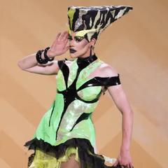 RuDemption Look - Neon Queen Realness