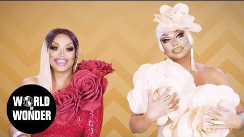 FASHION PHOTO RUVIEW All Stars 3 Flower Power with Raven and Mariah Balenciaga