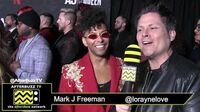 """Shangela on the Red Carpet of Netflix's """"AJ & The Queen"""" Premiere in Hollywood"""