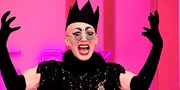 Sasha-velour-season-9-rupauls-drag-race-entrance-black-crown-sunglasses-black-gloves-black-dress.jpg
