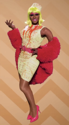 Chi Chi ReDemption Look2