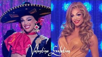 VALENTINA'S EVOLUTION All Runways Looks from Season 9 to All Stars 4