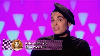 Valentina confessional