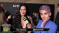 Tia Carrere on the Red Carpet of the AJ and The Queen Premiere in Hollywood
