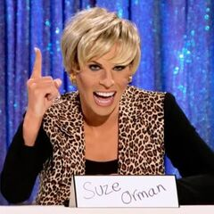 Snatch Game Look (Suze Orman)