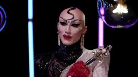 Sasha Velour live with the cast of RuPaul's Drag Race Season 10 FACEBOOK LIVE
