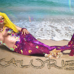 Unaired Mermaid Fantasy Look