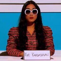 Snatch Game Look - Kim Kardashian