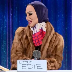 Snatch Game Look - Little Edie