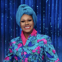 Snatch Game Look - Maya Angelou
